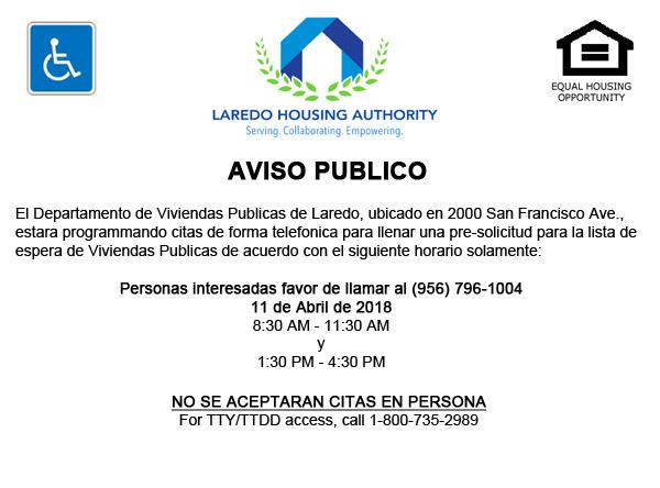 LHA abrirá lista de espera de vivienda pública